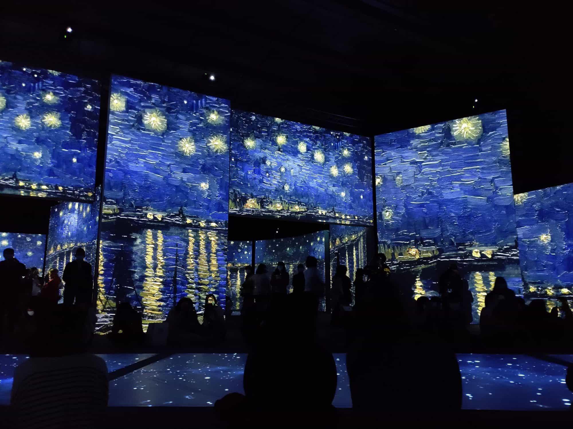 疫情療癒選曲 - 致敬梵谷的 Vincent (Starry, Starry Night) - 2020年4月的梵谷光影展台北場